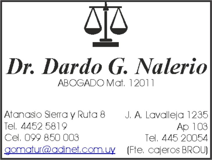 Dr. Dardo Nalerio